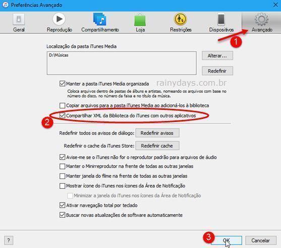 Corrigir iTunes abrindo com o Plex 2