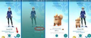 Distâncias para ganhar candy para Pokémon companheiro