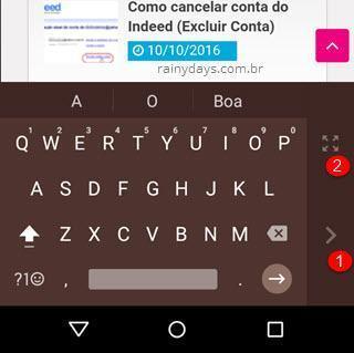 Como ativar modo uma mão no Android