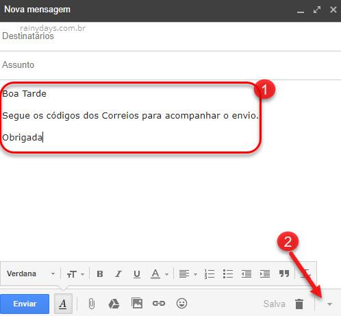 Criando resposta automática no Gmail