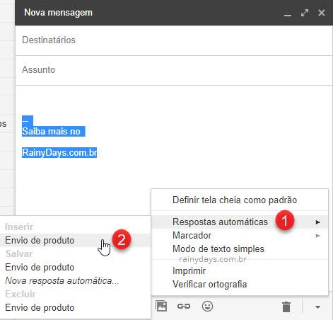 Como trocar entre assinaturas no Gmail rapidamente