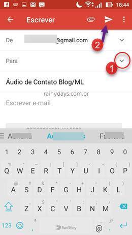 Como baixar mensagens de áudio do WhatsApp no Android 5
