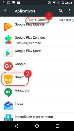 Grindr Aplicativos Android