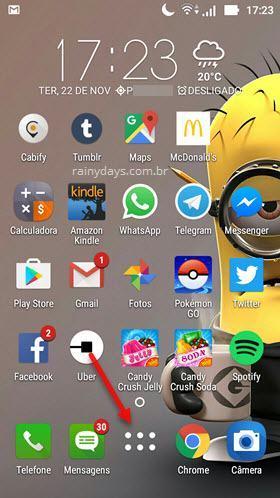 Todos os Aplicativos do Android