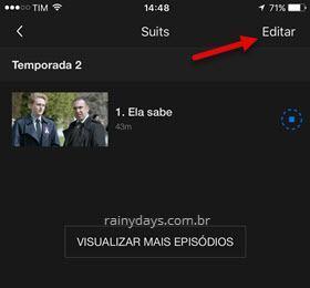 Apagar programas baixados no Netflix