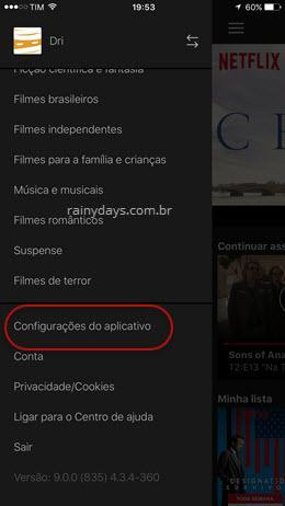 configurações de download do Netflix 1