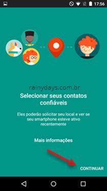Configurando contatos de confiança no Google 3