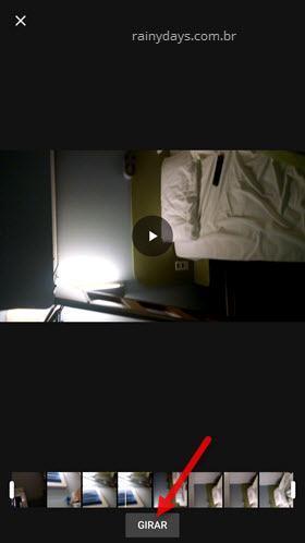 Rotacionar vídeo no Android e iPhone com Google Fotos 1