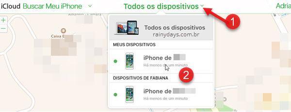 Desativar Buscar iPhone Bloqueio pelo computador
