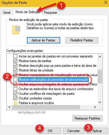 Bloquear anúncios do explorador de arquivos no Windows