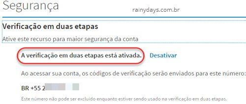 Ativar verificação em duas etapas no LinkedIn 4