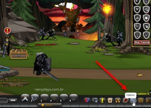 Como excluir conta do AdventureQuest Worlds AQW