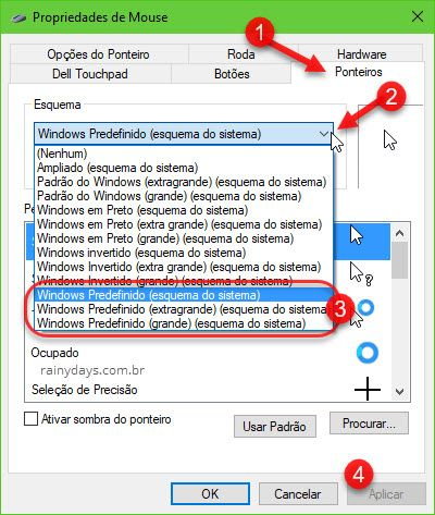 Como aumentar a seta do mouse no Windows
