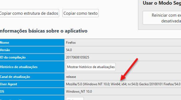 Como descobrir versão do Firefox 32 ou 64