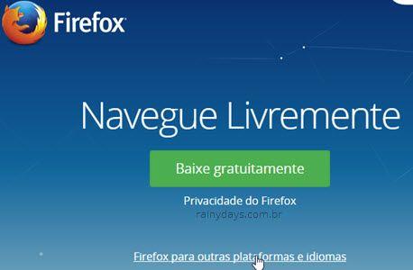 Instalar Firefox 32 ou 64 bit