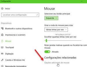 Como aumentar a seta do mouse no Windows