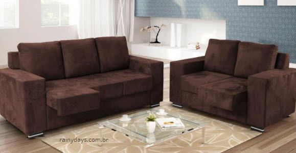 modelo jogo de sof 2 e 3 lugares menor pre o baratos conjuntos. Black Bedroom Furniture Sets. Home Design Ideas