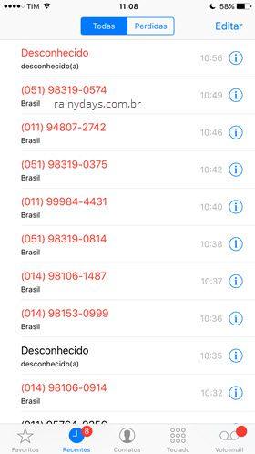 ligações spammers depois de desinstalar Truecaller 2