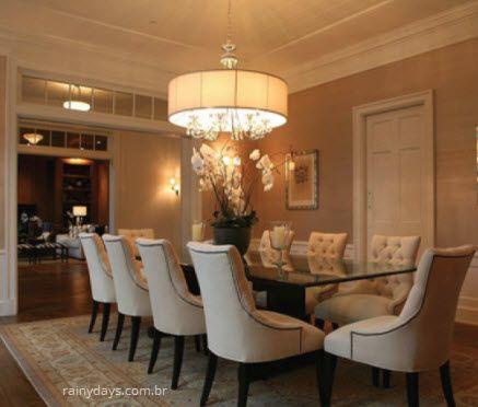 lustres modernos para sala de jantar mesa 2