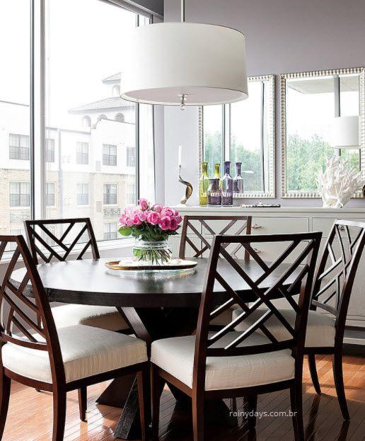 Modelos modernos de luminárias sala de jantar 2