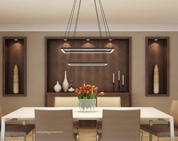 Modelos de lustres modernos para sala de jantar 1