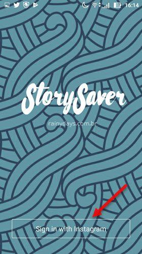 Story Saver Instagram Android salvar histórias