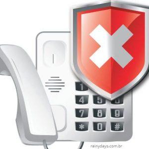 Bloquear telefone para ligações telemarketing RJ