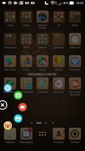 Como gravar tela do Android com AZ Gravador de Tela