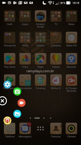 Como gravar tela do Android com AZ Screen Recorder