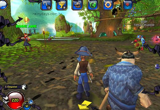 Como excluir conta do Pirate101
