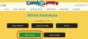 Como cancelar assinatura do Candy Lovers Club