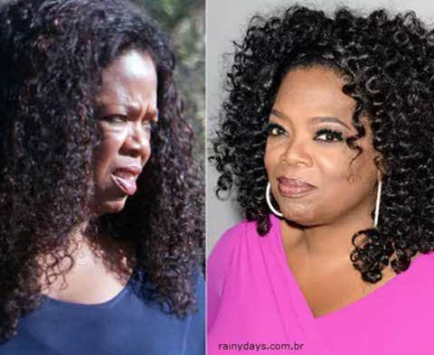 Oprah Winfrey sem maquiagem