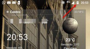 Mostrar porcentagem da bateria Moto G5S e G5S Plus Android Nougat