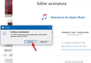 Como cancelar Apple Music pelo PC, Android ou iPhone
