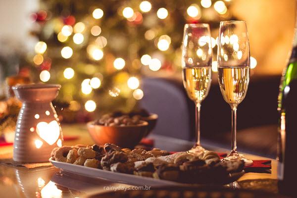 Receitas de Natal salgadas e sobremesas