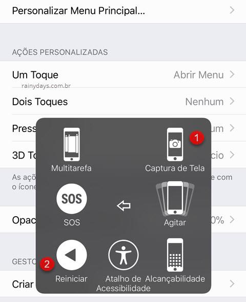 Como usar iPhone com botão power quebrado travado