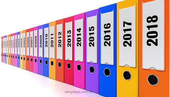Guardar documentos por quanto tempo