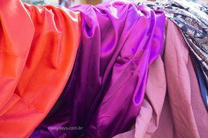 Tecidos naturais e tecidos sintéticos