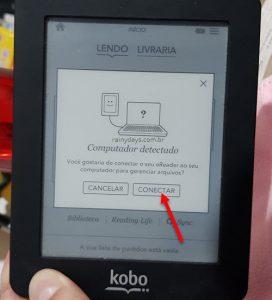 Adicionar livros no Kobo com calibre, serve para Kindle e iPad