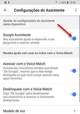 Como desativar Google Assistente no celular Android Ok Google
