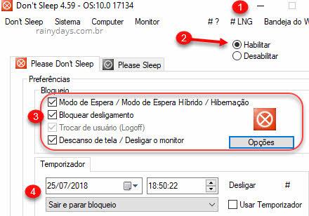 Don't Sleep para não deixar computador suspender ou hibernar