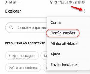 Como desativar Google Assistente no celular Android