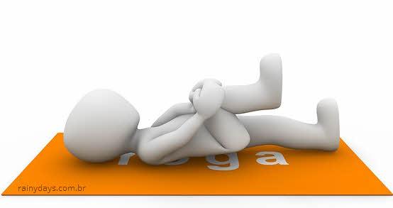 O que fazer após distender a coluna, dor na lombar