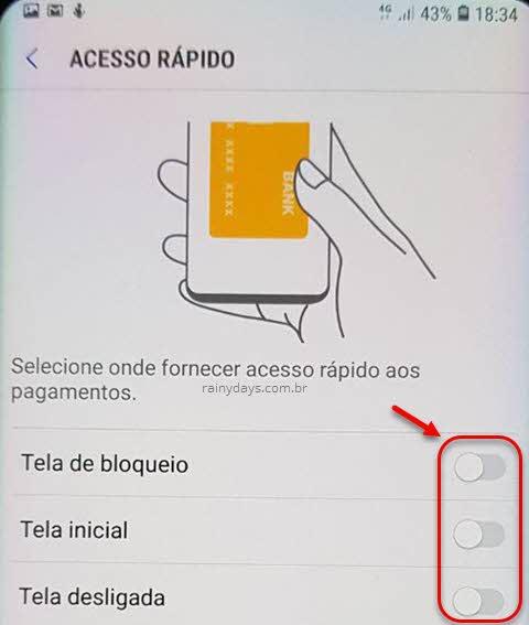 Como tirar Samsung Pay da tela, remover, desinstalar