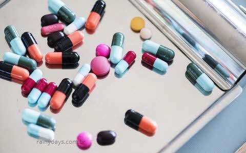 Remédios que não pode tomar com Roacutan