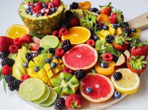 Frutas da estação primavera