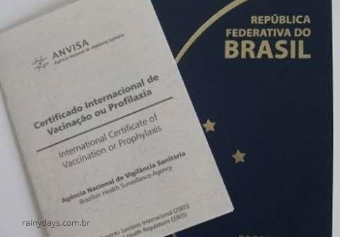 Certificado Internacional de Vacinação online