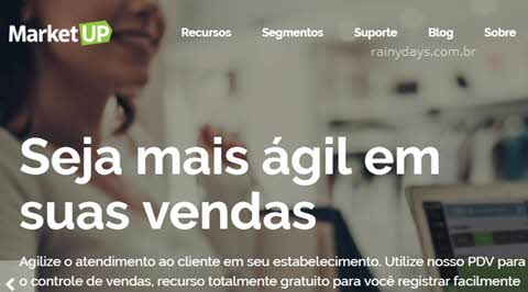 Como excluir conta do Market Up