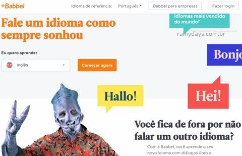 Como excluir conta do Babbel