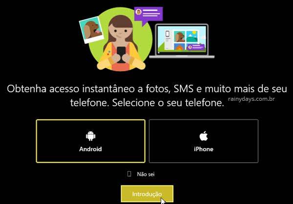 Como enviar SMS pelo PC usando Android